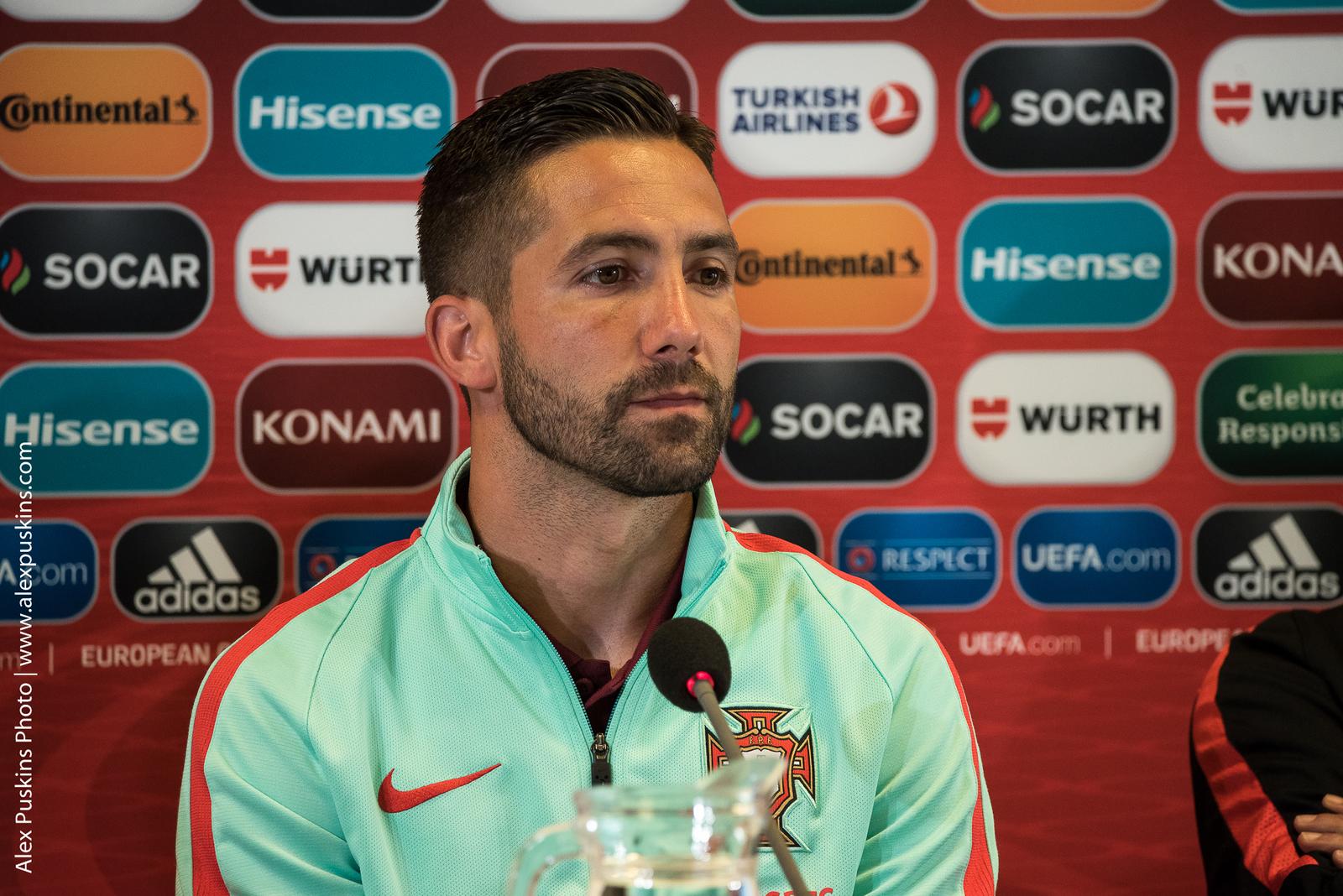 Пресс конференция сборной Португалии в Риге