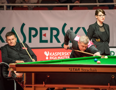 Ryan Day and Robert Milkins Kaspersky Riga Masters